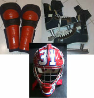 Vintage 60's-70's - Jambieres DR, Patins Bauer 99 Gretzky