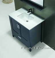 ⎷⎛Contemporary Bathroom Vanity & Cabinet Urban Flare UF36