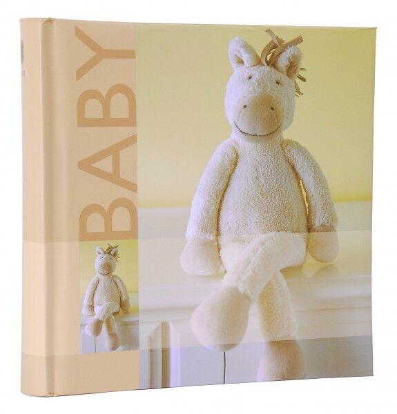 Baby Einsteckalbum beige Fotoalbum 200 10x15 Babyalbum Album Einsteckfotoalbum