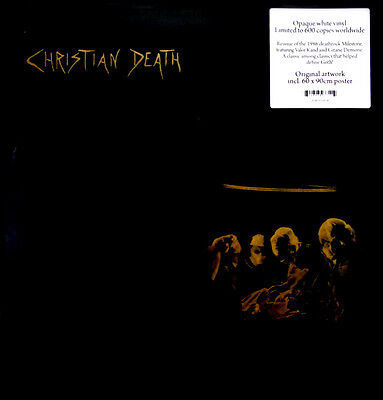 CHRISTIAN DEATH Atrocities 2016 limited edition white vinyl LP NEW/UNPLAYED