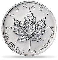 Silver Maple Leaf 1 Oz Coins