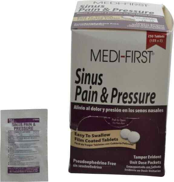 Medique Medi-First Sinus Pain & Pressure Tablets Sinus Relief