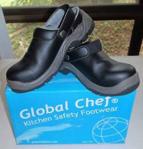 GLOBAL CHEF Steel cap clogs, synthetic - Sz 7 Ladies - WILL POST Whitfield Cairns City Preview