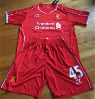 Jersey soccer et Short LIVERPOOL 2015 - BALOTELLI - HOME