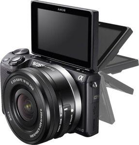 Sony Alpha NEX-5T E-mount Mirrorless Camera with 16-50mm Lens