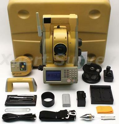 Topcon Gpt-9005a 5 Reflectorless Robotic Total Station Gpt9005a Gpt9005