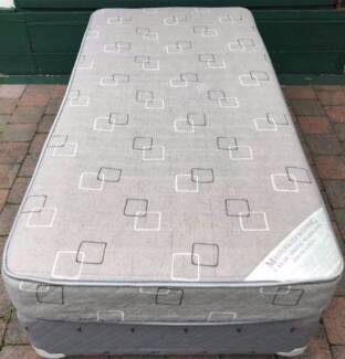 Excellent single bed base with mattress for sale. Delivery can do