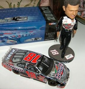 NASCAR Bobby Labonte Bobblehead and 02 Grand Prix Clear Ltd Ed