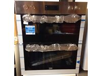 ***NEW Beko integrated double oven for SALE with 12 months guarantee***