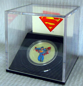 Modern Day Superman, 1/2 oz Pure Silver Coin from the RCM