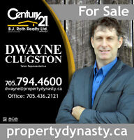 Time to move to Barrie Ontario call Dwayne at Century 21