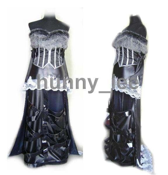 Final Fantasy X LuLu Cosplay Costume Custom-Made