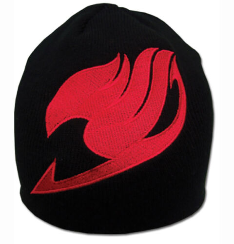 Fairy Tail Anime Guild Logo Beanie Hat New W// Tag Official Licensed GE Animation