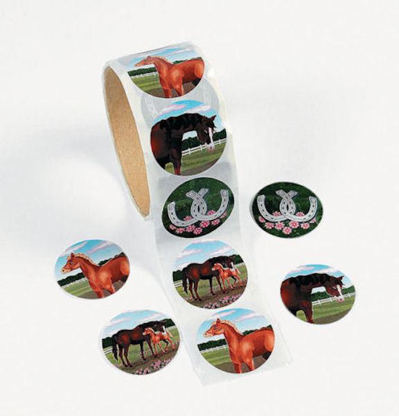 50 Horse Pony Stickers Teacher Supply Party Favors Farm Barn