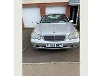 Mercedes-Benz, C CLASS, Saloon, 2002, Automatic, 1998 (cc), 4 doors