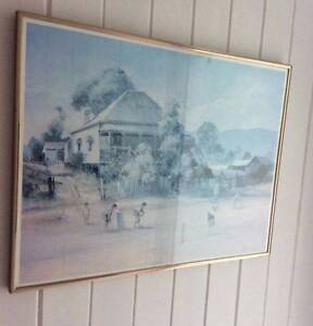 """Darcy Doyle """"cricket match"""" framed print Oxley Brisbane South West Preview"""
