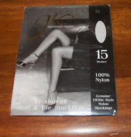 GIO Black Nylon RHT Stockings