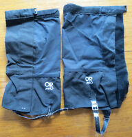 Outdoor Research Pro backpacking/ hiking/ mountaineering gaiters