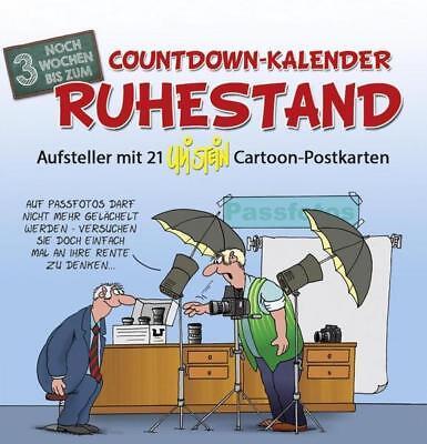 Countdown-Kalender Ruhestand (Stand Kalender)