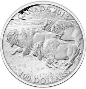 3X 100 for 100 Silver Bison - Sold out at RCM