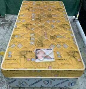 Excellent single bed base with mattress for sale. Pick up or deliver