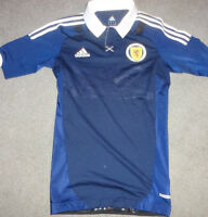 Scotland Home Soccer Jersey Shirt Authentic Player Issue