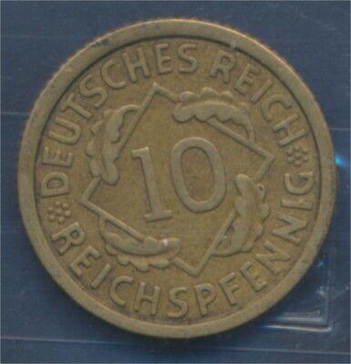 Deutsches Reich Jägernr: 317 1930 E vorzüglich 1930 10 Reichspfennig (7879587