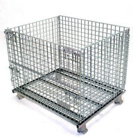 NEW COLLAPSIBLE WIRE MESH CONTAINERS. LOWEST PRICE IN ONTARIO