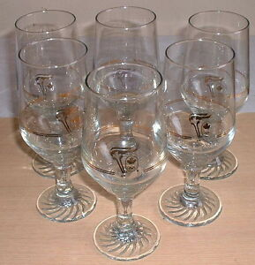 The Olympic Games Glasses Goblets Lot  -  (6 total)
