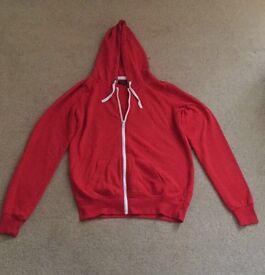 New look red hoodie