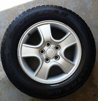 4 mags kia 16'' + pneus / tires (215-65-16), Bolt Pattern: 5x114