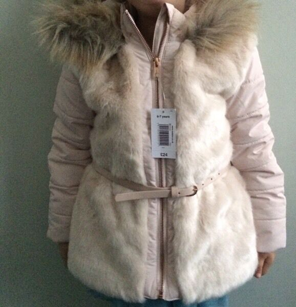 Kids girls winter 2016 style jacket 8-9years or 6-7 years