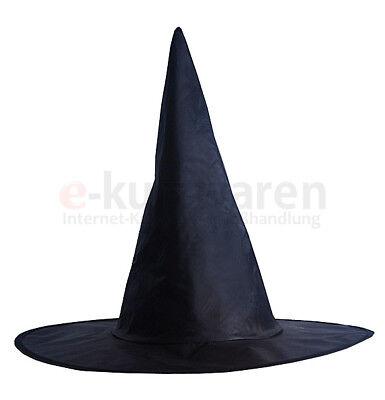 Hexenhut Schwarz Halloween Party Dekoration Witch Hut Hexe Zauberer Kostüm