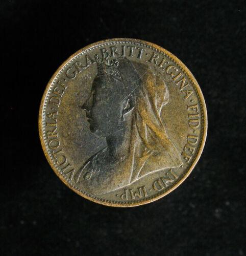 1895 Great Britain Penny KM# 790 Victoria