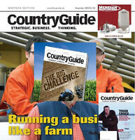 COUNTRY GUIDE MAGAZINE