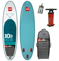 Red Paddle 10-6 Ride Inflatable Stand Up Paddleboard (SUP)