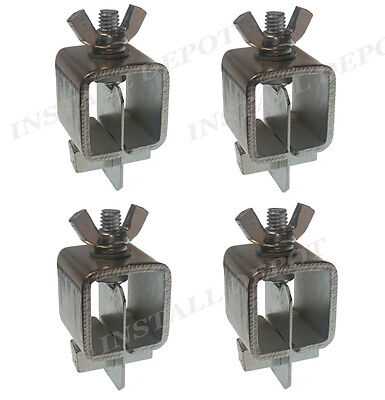 4 Pcs - Butt Welding Clamps Set - Weld Sheet Metal Panel Fender Fabrication Tool