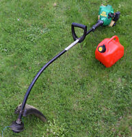 Weed Eater PL 200 25cc Grass Trimmer And Gas Can