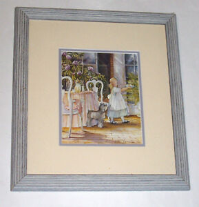Official Trisha Romance 5 x 7 Print + wood frame Minding Manners
