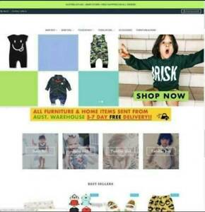 Kids Clothing Website - Online Business
