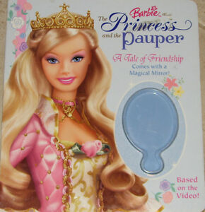 Barbie The Princess and the Pauper Hard Cover Book London Ontario image 1