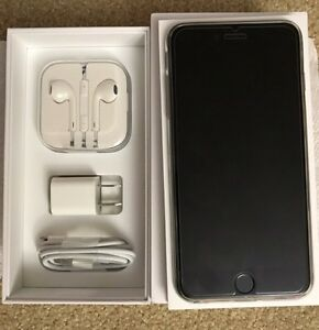 Mint Condition Silver iPhone 6 Plus 128 gb
