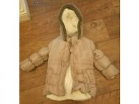 Girls coat age 2/3 years