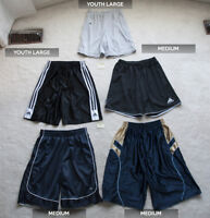 Men's & Youth Sports Shorts (Basketball & Soccer)  |  $5 Each