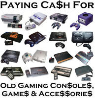 Cash For Gaming Consoles, Games & Accessories