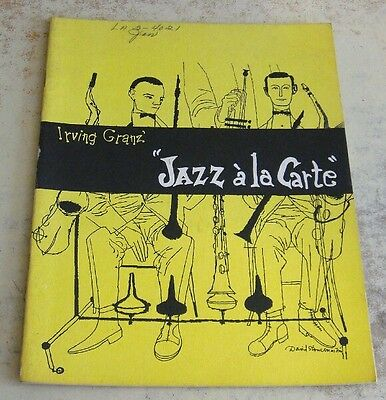 Irving Granz Jazz Ala Carte Production Program