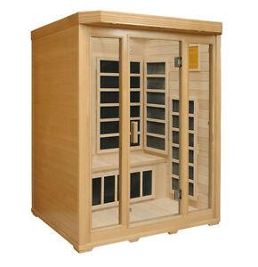 3 Person Sauna (IDS-3C1) Hemlock  FOR SALE!!