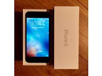 IPhone 6 Space Grey 16gb on 02 Excellent condition