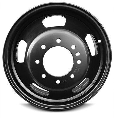Set Of 2 New Dually DRW Steel Wheels Rim 17'' 03-18 Dodge Ram 3500 8 Lug 165mm