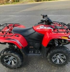 2012 Arctic Cat 700 4X4 with many accessories!! only 1 owner!